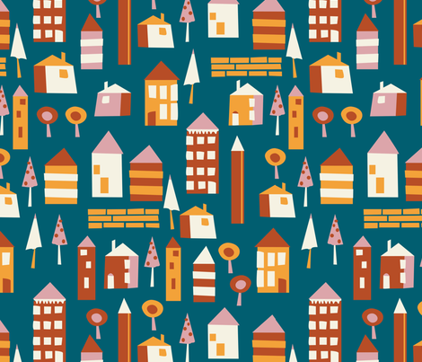 House Party fabric by open_face_sandwich on Spoonflower - custom fabric