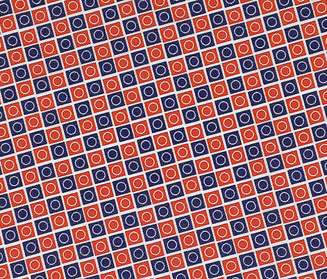 Airmail Check* || geometric squares circles polka dots post postal mail red white blue checkerboard 30s 1930s