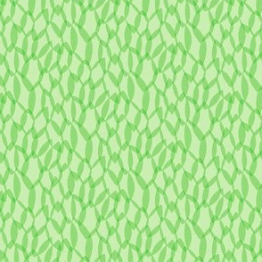 Overlapping Leaves - Light Green - Small