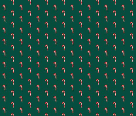 Candy cane fabric by hejamieson on Spoonflower - custom fabric