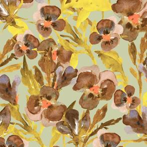 Floral Pattern 180926_7 by lenaterzi_art