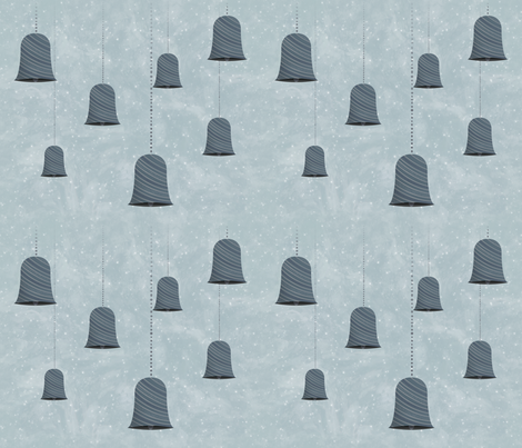 Bells Number 2 fabric by musicmeister on Spoonflower - custom fabric