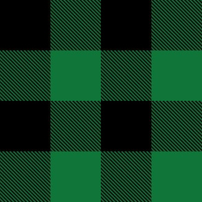 "2"" Buffalo Plaid with Twill Pattern 