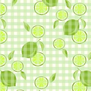 Citrus Gingham