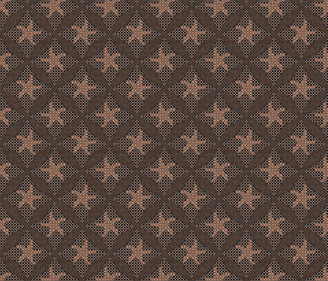 rosewood stars fabric by variable on Spoonflower - custom fabric