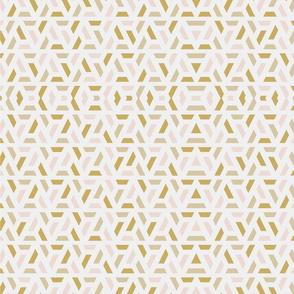Gold Geometric Pattern