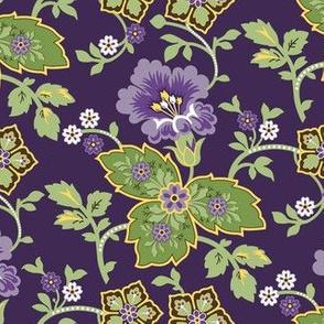 1900 C. Uzbekistan Dense Floral f177