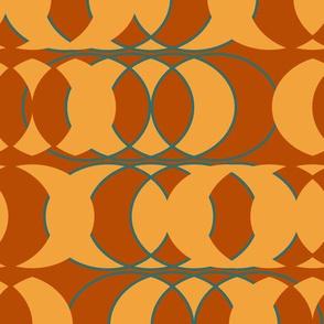 ellipses in earth tones