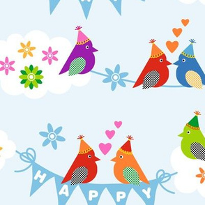 Happy Birdday! Birds