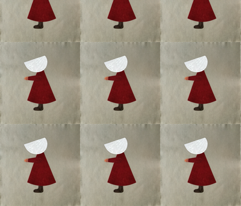Handmaiden-Sunbonnet#5 fabric by smirky on Spoonflower - custom fabric