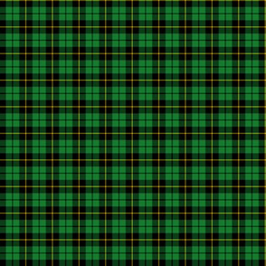 "Wallace hunting tartan, small .8"" repeat"