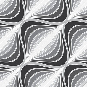 Curve Pattern Grey Values
