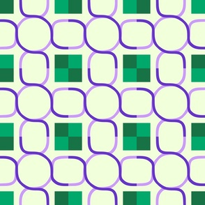 Chain - Purple Green B