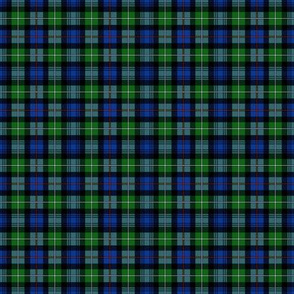 "Mackenzie / Seaforth Highlander tartan, 2"", modern colors (blend, no twill lines)"