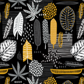 Tropical Mono with Yellow