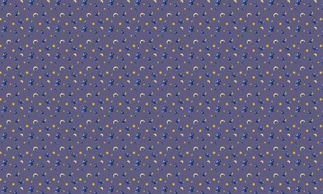 Sleepy Sheepies fabric by elicecil on Spoonflower - custom fabric