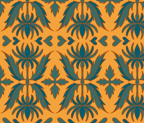 Cleopatra fabric by crookedlittlestudio on Spoonflower - custom fabric