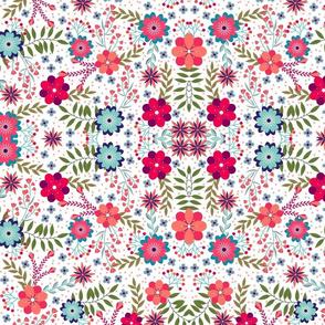 Multi Color Florals