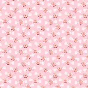 (micro scale) Peppermint candies / pink - C18BS