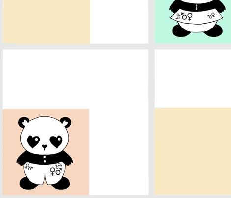 Gender neutral wallpaper fabric by stacystudios on Spoonflower - custom fabric