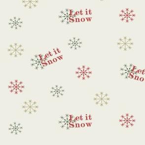 let it snow tela