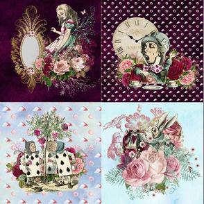 Wonderland Purple Patchwork