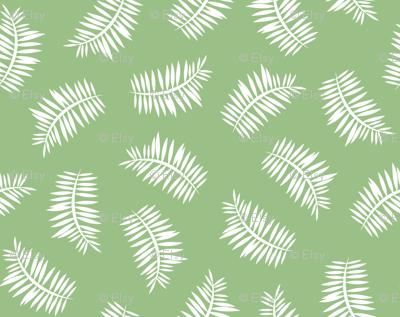 Grass Green Ferns