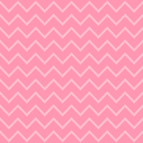 Rose Pink Chevron - Two Tone Thin Zig Zag fabric by elsy's_art on Spoonflower - custom fabric