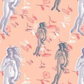 Venus on Peach