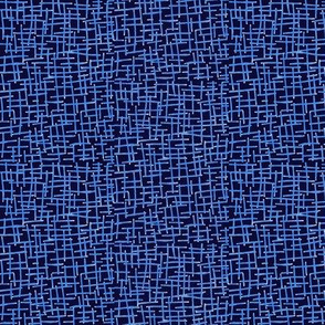 Sketchy Wire Mesh of Bright Blue on Blackberry