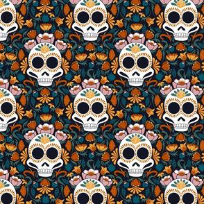 Damask Sugar Skull