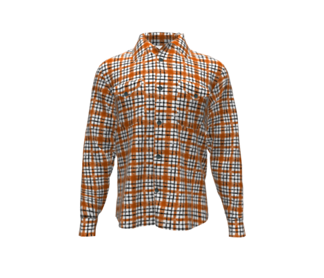 October Terracotta classic plaid
