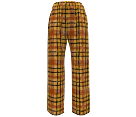 October Plaid in Terracotta & Saffron classic