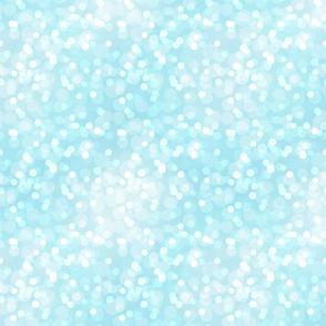 Pastel Aqua Small Bokehs