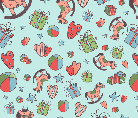 patternbaby1 fabric by sofigrike on Spoonflower - custom fabric