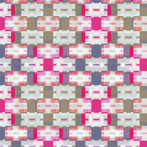purple and pink rectangles fabric by variable on Spoonflower - custom fabric