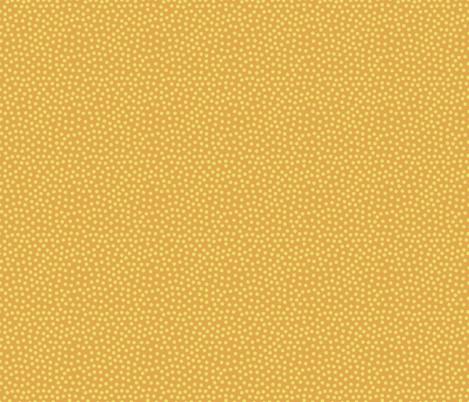 Yellow dots on orange  fabric by sandra_hutter_designs on Spoonflower - custom fabric