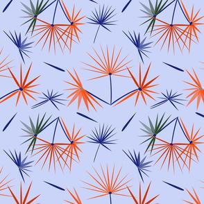 Fantastic Palms explosion lt blue