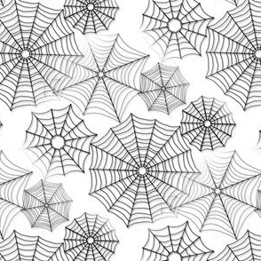 Spiderwebs White