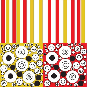 red and yellow ethinic