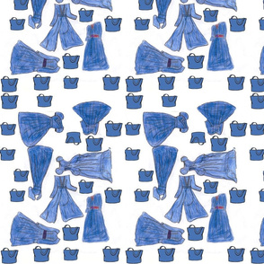 Jean Dresses And purses fabric.png