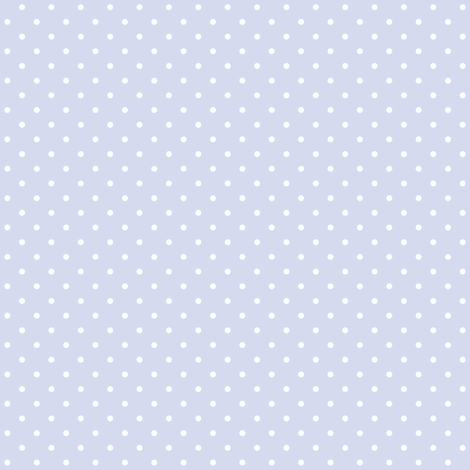 Periwinkle Blue and White Polka Dots fabric by elsy's_art on Spoonflower - custom fabric