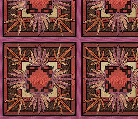 Wild Woodshop Inlay 12x12 fabric by camomoto on Spoonflower - custom fabric