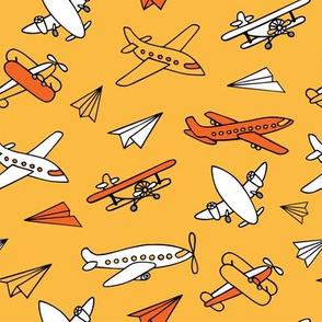 Aircraft_pattern_yellow