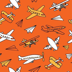 Aircraft_pattern_orange