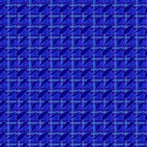 blue blue plaid