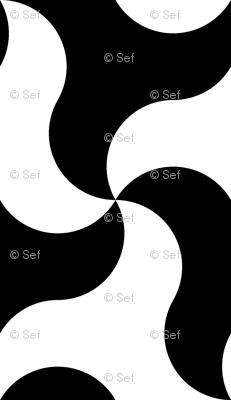 08050182 : 2 circle-arc triangles