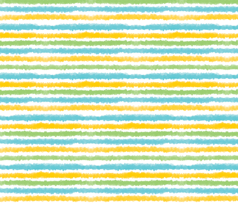 Pastel Watercolor Stripes  fabric by jayhutch on Spoonflower - custom fabric