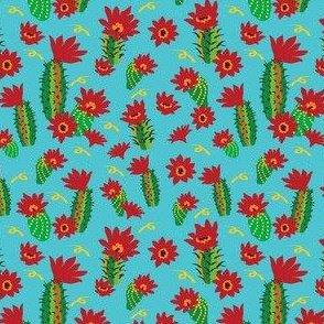 Cactus Red Flowers and ribbons-01-01