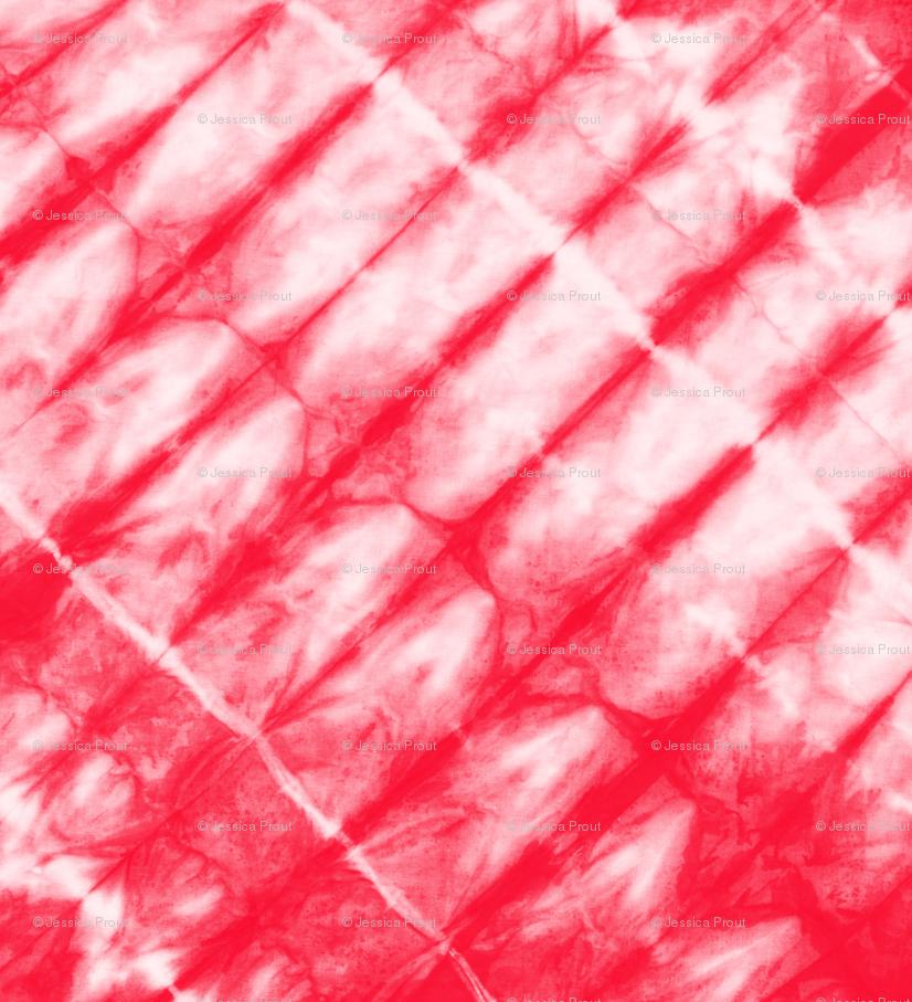 red - tie dye | 4 C18BS wallpaper - littlearrowdesign - Spoonflower